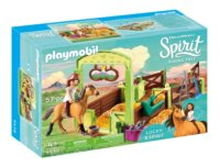 PLAYMOBIL® Spirit 9478 Koňský box Lucky & Spirit