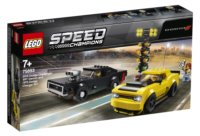 LEGO® Speed Champions 75893 Dodge Challenger SRT Demon 2018 a Dodge Charger R/T 1970