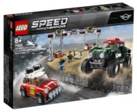 LEGO® Speed Champions 75894 Mini Cooper S Rally 1967 a MINI John Cooper Works Buggy 2018