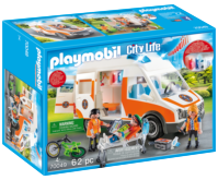 PLAYMOBIL® City Life 70049 Ambulance se zvukem a světly