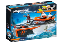 PLAYMOBIL® Top Agents 70002 Spy Team Turbo loď