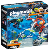 PLAYMOBIL® Top Agents 70003 Spy Team Ponorka
