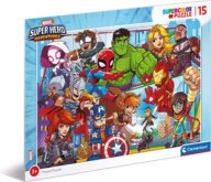 Puzzle Marvel Super Hero Adventures 15 dílků