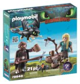 PLAYMOBIL® Dragons 70040 Škyťák a Astrid hrací set